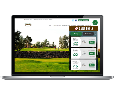 Coyote Lakes website widget